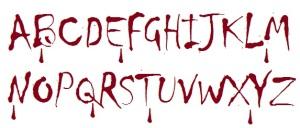 alphabet of fear