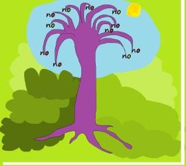 no tree